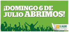 ¡No pierdas ni un día de #rebajas! Ven a disfrutarlas con El Ingenio este domingo 6 de julio.