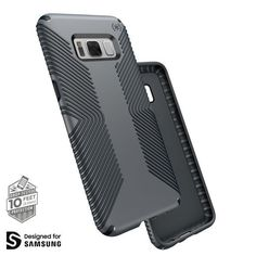 Description 10-Foot Drop Tested. Our Presidio™ Samsung Galaxy S8+ cases have been dropped from a height of 10 feet multiple times by third-party laboratories to ensure they offer superior protection.
