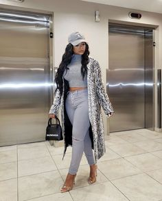 Winter Fits, Winter Looks, Fall Looks, Winter Style, Dope Outfits, Fall Outfits, Fashion Outfits, High Fashion, Womens Fashion