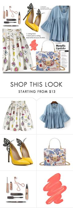 """""""Rosegal 34"""" by edita-n ❤ liked on Polyvore featuring Obsessive Compulsive Cosmetics"""