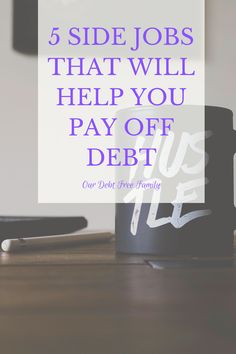 Finding a side job to help you pay off your debt fast is a good idea! Check out these 5 hustles to help you be debt-free. Debt Payoff, Financial Goals, Debt Free, Hustle, How To Make Money, Check, Hustle Dance
