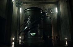 Isolation Tank | A Cure for Wellness, deutsch-US-amerikanischer Mystery-Thriller von Gore Verbinski aus dem Jahr 2016. Unser Unternehmen hat für die Studio Babelsberg AG verschiedene Tanks gefertigt. Foto: A Cure for Wellness