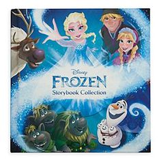 Frozen Storybook Collection Book | Disney Store Join your favorite <i>Frozen</i> characters on one fun journey after another. This enchanting storybook collection includes 18 tales in one beautiful hardback book with color illustrations that bring the magic of Arendelle to life.