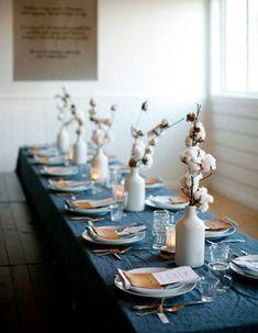 Délicats bouquets de coton