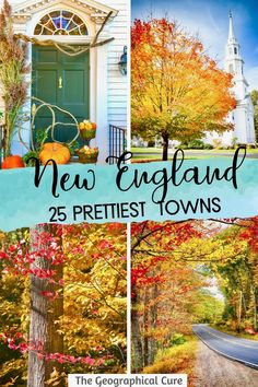 Planning a road trip in New England and need some destination inspiration? This New England itinerary takes you to 25 of the most beautiful and prettiest small towns in New England, for your New England bucket list. New England has some of the cuteset small towns in the United States. Set amidst rocky shores or rolling mountains, New England's quaint towns are filled with historic landmarks, old world architecture, and beautiful landscapes. New England Itineraries | New England Road Trips European Destination, European Travel, New England Travel, Rocky Shore, Mall Of America, Travel Articles, Travel Aesthetic, London Travel, Culture Travel