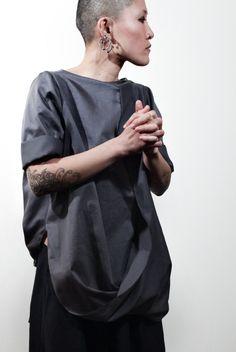 altrove I otto shirt - dove grey