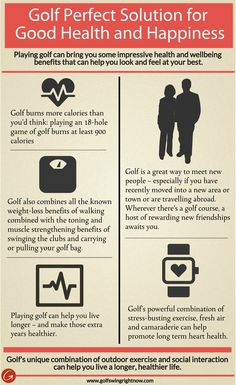#Golf Perfect Solution for Good #Health and #Happiness