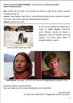 Trude Marstein, Karin Fossum, escritoras noruegas. MUJERES DE LOS FIORDOS, Nórdica Libros Reading Workshop, The Voice, Writers, Author, Feminine, Libros, Women