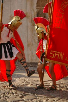 Antigua, Guatemala.  Easter street celebrations.    www.snowfish.ca