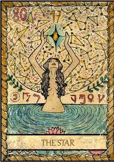 Samiramay Tarot - The Star #tarotcardsdiy
