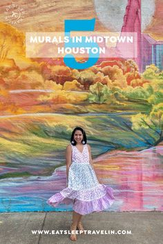 Check out our blog post for 5 murals to visit in Midtown Houston. Top instagrammable spots in Houston. Houston skyline. Loveshackfancy x target dress. Top things to do in Houston. Target Style. Houston Murals, Houston Skyline, The Creation Of Adam, Dogwood Flowers, Target Style, Things To Do, Graffiti, Texas, Wall Art