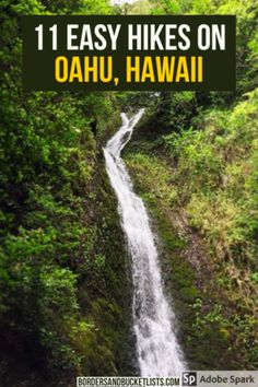 Searching for a list of easy hikes on Oahu that are worth your time? This list from an Oahu local showcases 11 amazing options! Hawaii Travel Guide, Usa Travel Guide, Travel Usa, Travel Guides, Travel Tips, Travel Destinations, Canada Travel, Hawaii Hikes, Oahu Hawaii