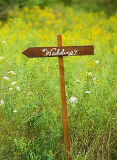Calligraphy Wood Wedding Signs with post by DesignsByRobynLove, $47.00