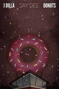 J Dilla Donuts Poster