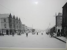 Old Images of Dublin Old Images, Old Pictures, Old Photos, Vintage Photos, Dorset Street, Dublin Street, Irish Independence, Gone Days, Ireland Pictures