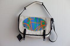"Taliah Lempert:   ""ED'S BIKE BAG""  Bags for The Red Hook Crit. http://www.timbuk2.com"