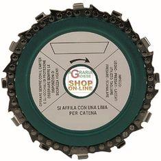 DISCO A CORONA PER LEGNO CON CATENA MOTOSEGA MM. 230 http://www.decariashop.it/accessori-per-elettroutensili/4527-disco-a-corona-per-legno-con-catena-motosega-mm-230.html