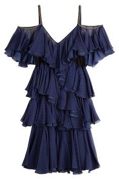 Philosophy di Lorenzo Serafini - Printed Silk Dress
