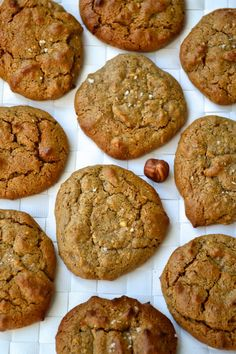 Hazelnut Butter Cookies- paleo and grain free