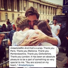 """24 Times The """"Me Before You"""" Cast Scored Themselves On Your Heart"""