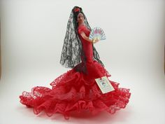 "Vintage ""Marin Chiclana"" Flamenco / Fandango Dancer Doll Made in Spain. $8.00, via Etsy."