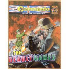 Commando Comic Picture Library #4515 War Action Adventure