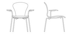 stacking chairs in plan - Google Search