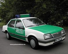 1987 Opel Ascona Police Car
