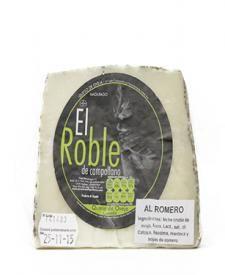 Queso de oveja en romero El Roble 375g. #quesos #gourmet