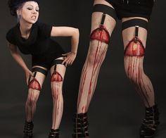 Flayed Flesh Garters http://media-cache7.pinterest.com/upload/269160515199619287_5CenIzES_f.jpg rosepilny halloween scream