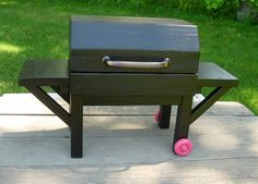 Doll Grill Outdoor Furniture for American Girl Doll or 18-inch Doll on Etsy, $80.00
