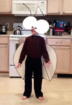 Fly Guy costume for Read Across America celebration