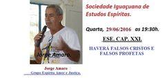 Sociedade Iguaçuana de Estudos Espíritas Convida para a sua Palestra Pública - Nova Iguaçu – RJ - http://www.agendaespiritabrasil.com.br/2016/06/29/sociedade-iguacuana-de-estudos-espiritas-convida-para-sua-palestra-publica-nova-iguacu-rj-10/