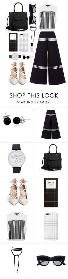 """Make it Monochrome"" by bechs ❤ liked on Polyvore featuring Bling Jewelry, Baum und Pferdgarten, ALDO, Rebecca Minkoff, Gianvito Rossi, Alexander Wang and Deborah Lippmann"