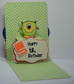 Lovin The Life I Color: Happy 5th Birthday Pop n Cut!