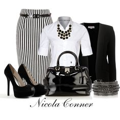 """""""White Blouse"""" by nicola-conner on Polyvore"""