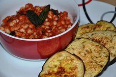 Bohnensalat mit gebratenem Salbei