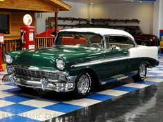 1955 Chevy Bel Air 2-Door hard-top, they don't make 'em like they used to!