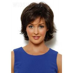 Short Fringy End Wispy Bangs Haircut