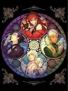 Black Butler ~~ Wow... it's like a black butler kingdom hearts crossover!!!!!