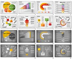 Infographic Diagram Set for PowerPoint
