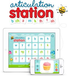 Little Bee Speech- Apps for Speech and Language- Articulation Station www.theoldschoolhouse.com