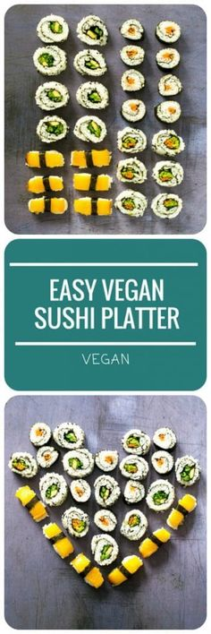 This Easy Vegan Sush