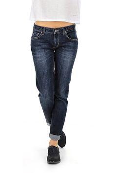 LIU.JO - Jeans - Abbigliamento - Jeans in cotone elasticizzato a cinque tasche.La nostra modella indossa la taglia /EU 25. - BLUE - € 105.00