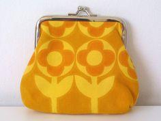 Vintage Flowers Snap purse
