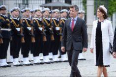 Mary et Frederik en Pologne