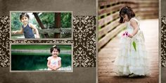 Photo Book Template for Photoshop from Ashbury Court Package