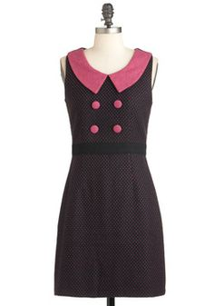 Extraordinary Efforts Dress, #ModCloth: So professional/cute! And under $30!