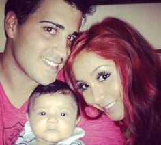 """We can't get over how amazing Snooki looks and she reveals to Us Weekly her thoughts on motherhood, relationships and exercise. In a quote from the interview the reality-TV star reveals her trick if she can't make it to the gym.  """"If you can't make it to the gym, you can always work out with your baby. He likes to go up and down. We call him Super Lorenzo so he flies."""""""