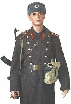 Russian Post WWII Army Seargent Uniform